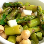Asparagus and Chick Pea Salad